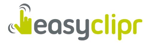 Logo von der easyclipr GmbH